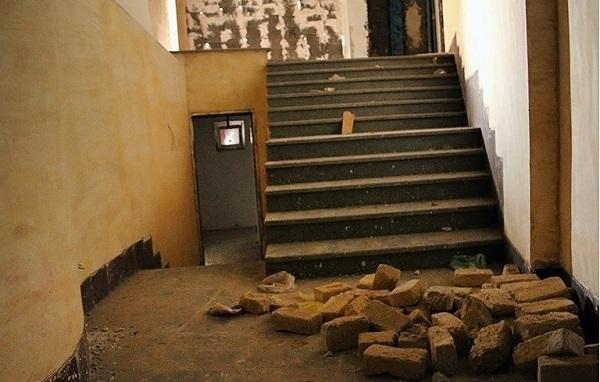 گزارش تصویری از کتابخانه ای ناتمام در ایلام